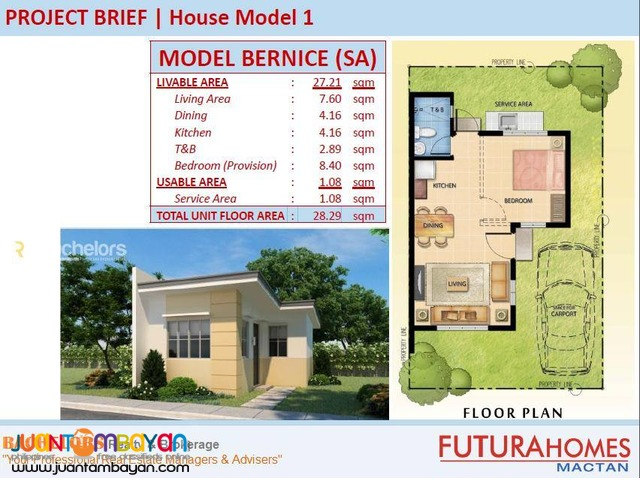 Mactan Subabasbas Futura Homes Beatrice Model