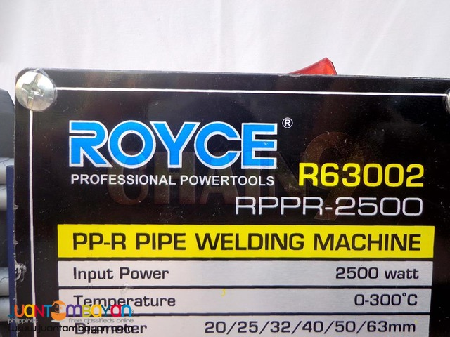 PP-R PIPE WELDING MACHINE