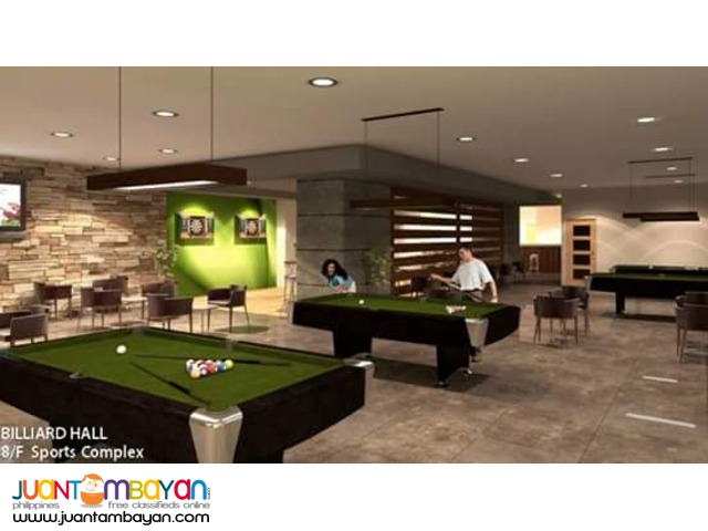 Single Unit Sports Condo Along Kamuning