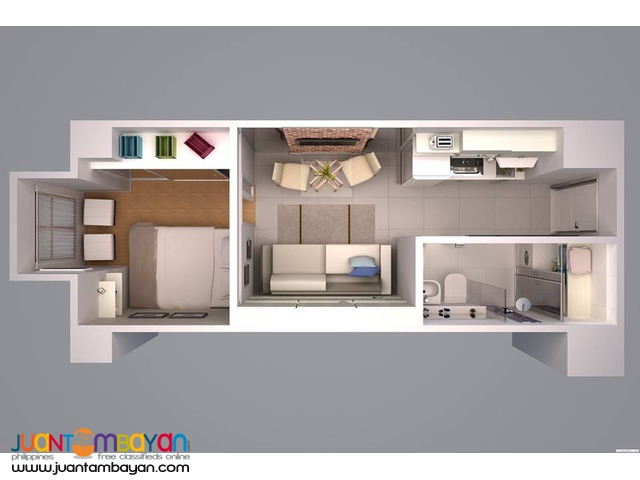 Typical Sports Condo Unit Located at Kamuning QC