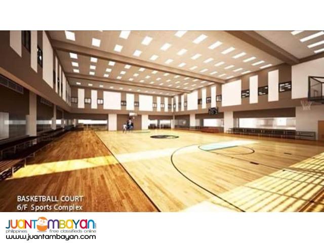 The First Sports Complex Condominium in Metro Manila