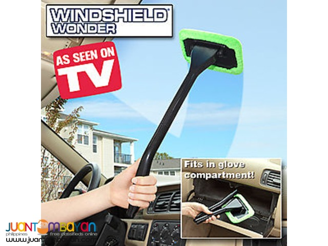 Windshield Wonder Auto Glass Cleaner With Microfiber Pads