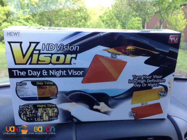 Vision Visor Car Sun Visor HD Vision Driver Day Night