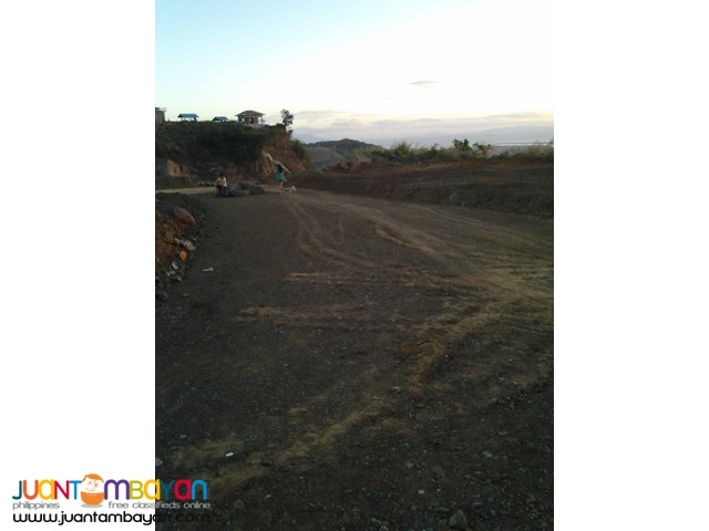 over looking lot for sale at taytay rizal