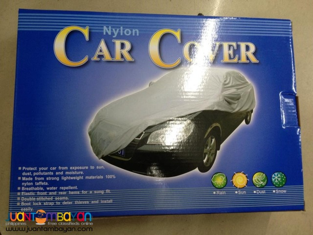 Lightweight Waterproof Nylon Car Cover For Sedan Cars