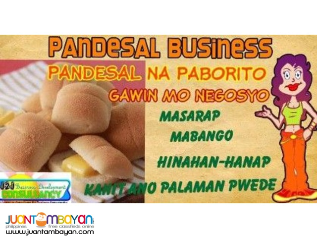 Hot Malungay Pandesal and Bakery Foodcart Franchise Business