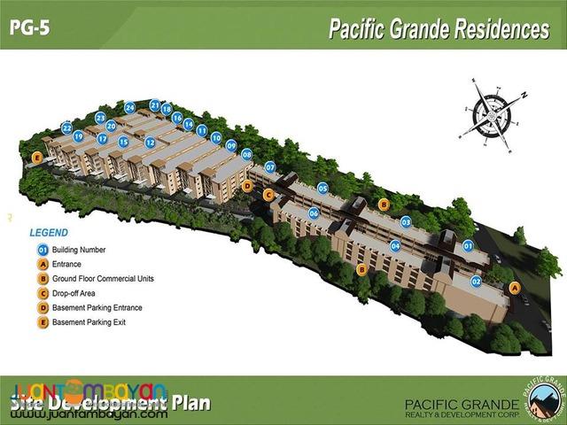 Lapulapu Basak CONDO PACIFIC GRANDE Cebu 24sqm