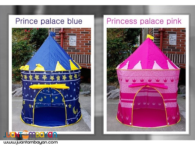 SHOP : CASTLE TENT PINK / BLUE