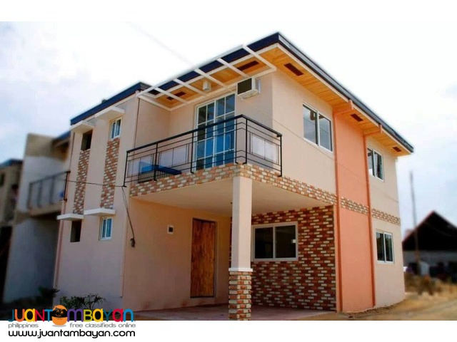 Townhouse 2-storey for as low P49,000 mo equity in  Consolacion  Cebu