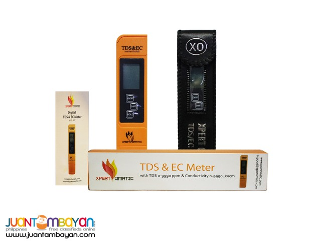 Total Dissolved Solids (TDS) Meter for Water Quality Testing