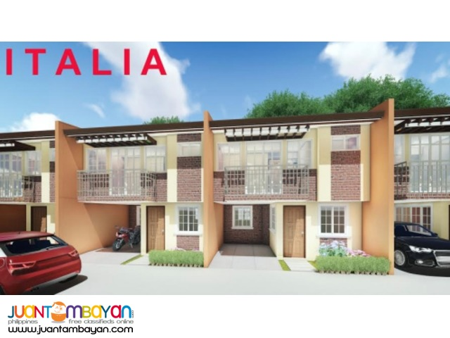 Townhouse for as low as P18,625 mo amort in Talisay