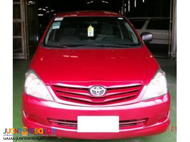 rent a car, TOYOTA INNOVA