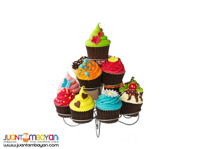 3 Layer tier Cupcake Stand Holder Display Holds 13 Cupcake