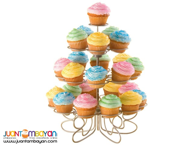 4 Layer tier Cupcake Stand Holder Display Holds 23 Cupcake