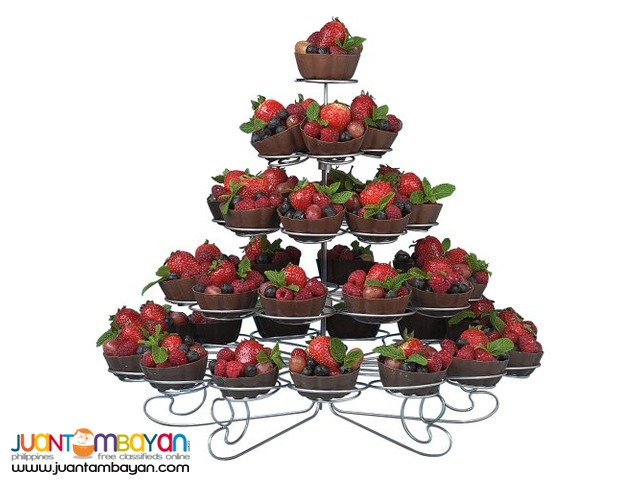 5 Layer tier Cupcake Stand Holder Display Holds 41 Cupcake