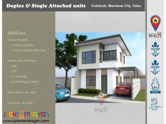 for sale Canduman Residences Duplex & Single Attached