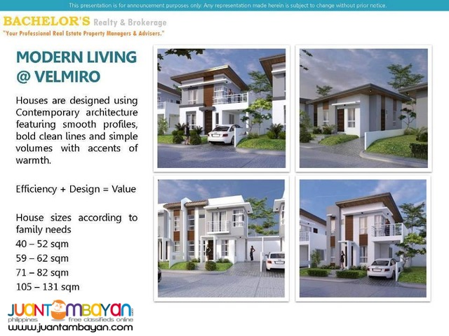 Velmiro Heights @ Tunghaan, Minglanilla, Cebu Anandi Model