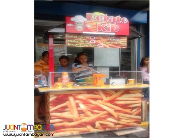 Potato Fries Foodcart Franchise Business, Negosyong Foodcart