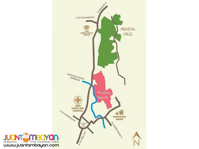 Priveya Hills Talamban lot for sale