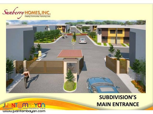 Sunberryhomes townhouse Mactan Cebu