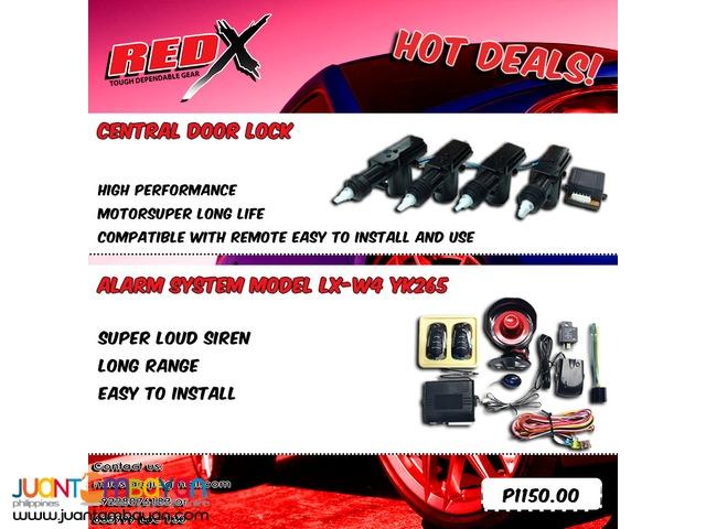 Hottest Deal  CAR ALARM + CENTRAL DOOR LOCK