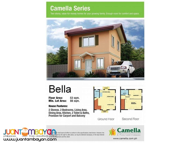 For Sale 2 Bedroom House & Lot in Gapan City
