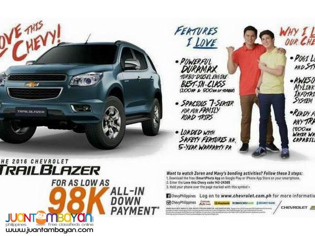 CHEVROLET PROMOS Trail Blazer 98k
