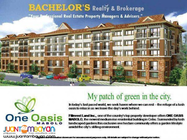 One Oasis resort type condominum in Mabolo