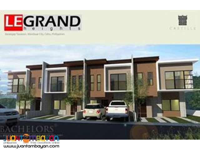 Mandaue LeGrand Heights at Tawason, Mandaue, Cebu Lulu Model