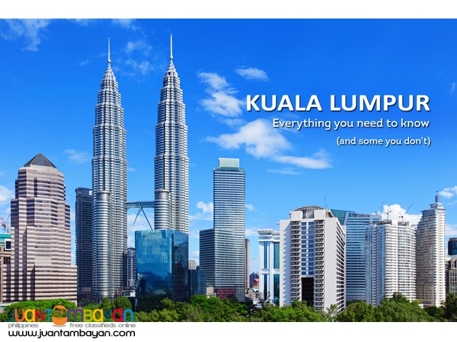 3D2N Kuala Lumpur,Malaysia Free and Easy Package