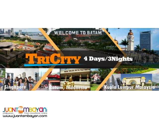 TRI CITY PACKAGE ( SINGAPORE, INDONESIA , MALAYSIA )
