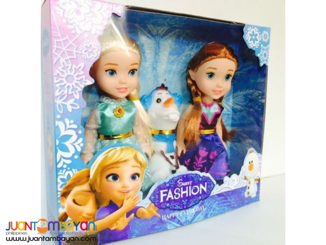 NEW - Playset Frozen Princess Elsa &  Anna & Olaf
