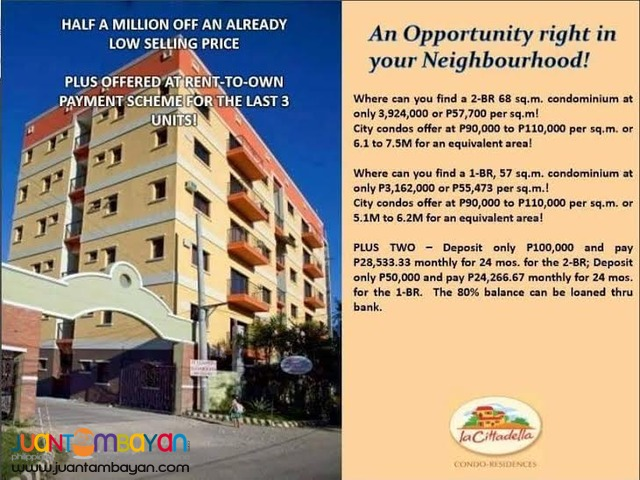 house or apartment for rent to own at cebu