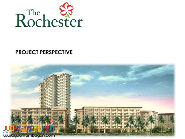 The ROCHESTER Pasig Condo near BGC = 2.57 M up/unit