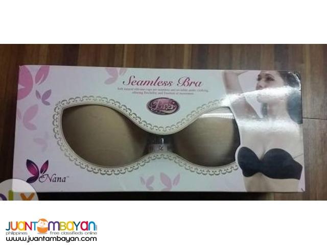 Seamless Strapless Bra Breast Enhancer Push Up Bra Strapless Backless