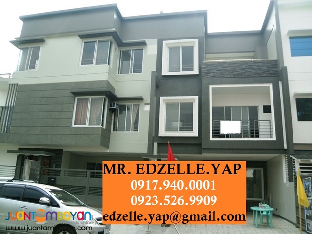 3 Storey Townhouse for Sale Teachers Village Q.C