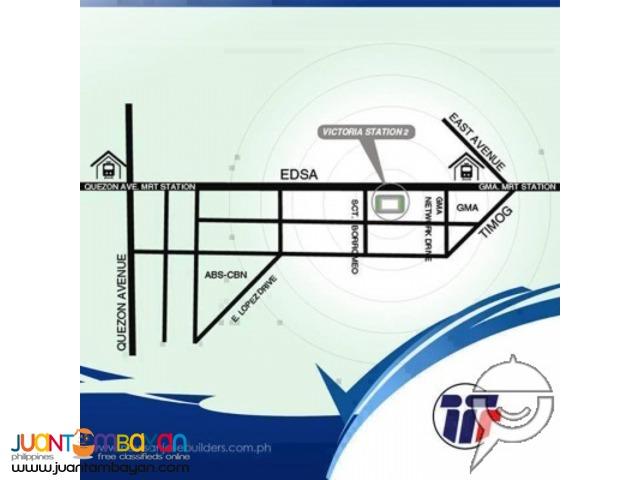 1,2,3 br pre selling condo along edsa kamuning quezon city