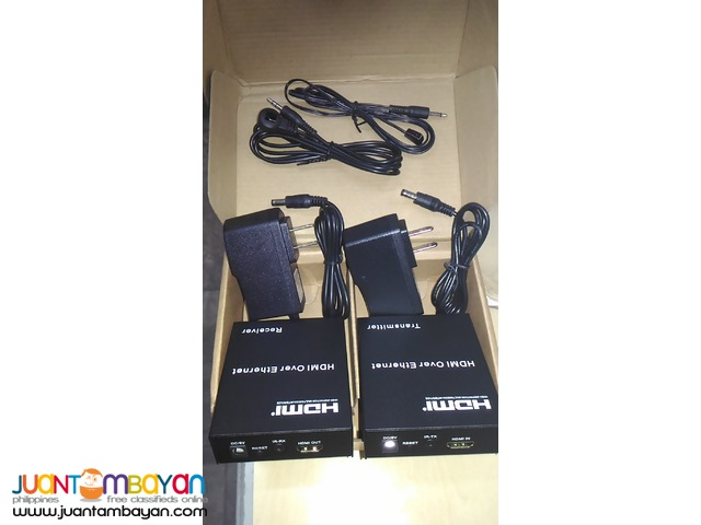 HDMI Extender via UTP Cable up to 120Meters
