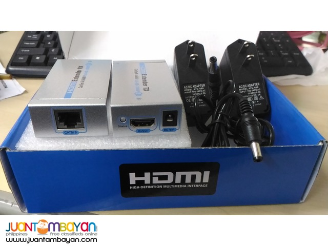 Hdmi Extender via single lan / utp cat6 Cable up to 60M