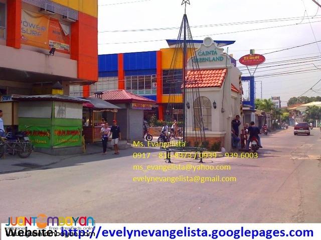 Cainta Greenland Phase 8A1 Bonifacio Ave. Cainta Rizal