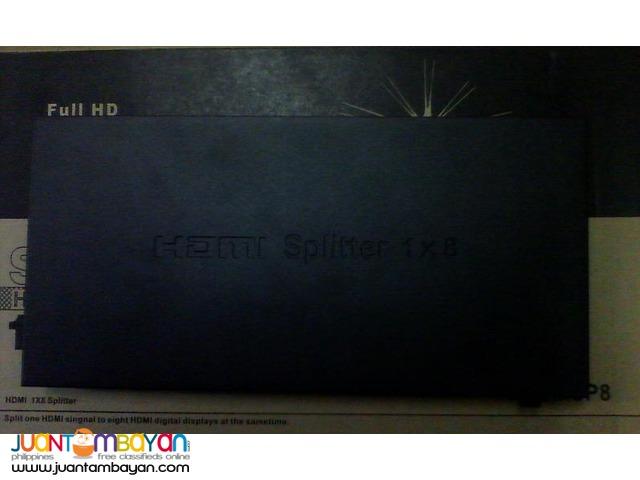 HDMI Splitter 8 Ports