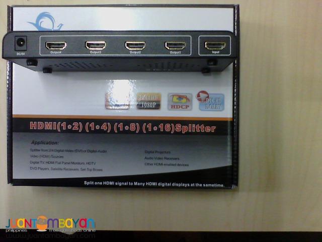 HDMI SPLITTER 4PORTS -full 1080p