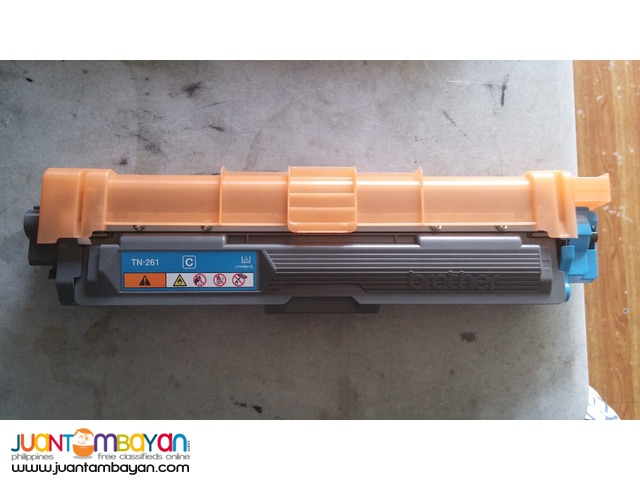 Brother Toner Cartridge TN-261 cyan with automatic printer warranty