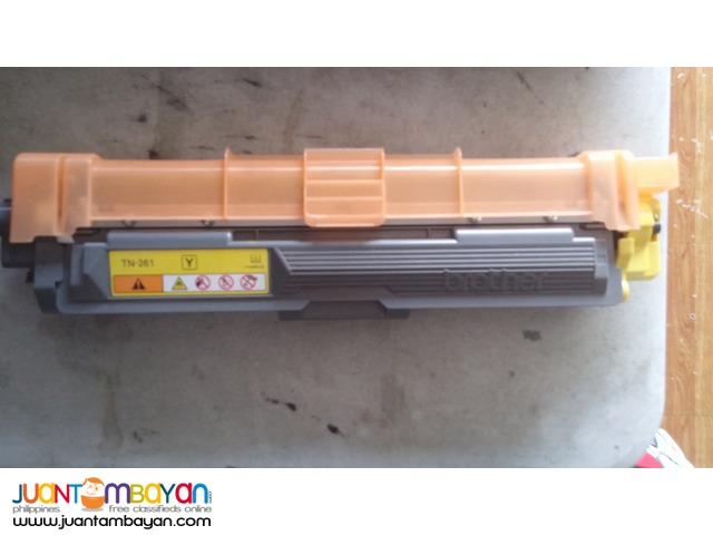 Brother Toner Cartridge TN-261 yellow FREE DELIVERY