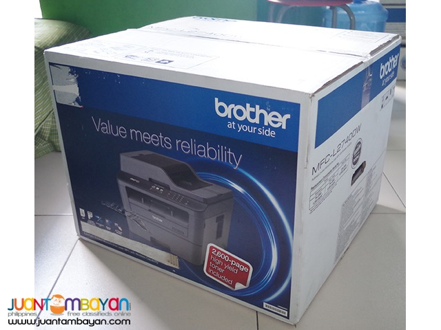 Brother MFC - L2740dw with lifetime warranty