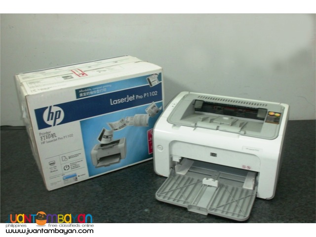 HP Laserjet P1102 / P1102W Free Use / Rentals with Free Maintenance