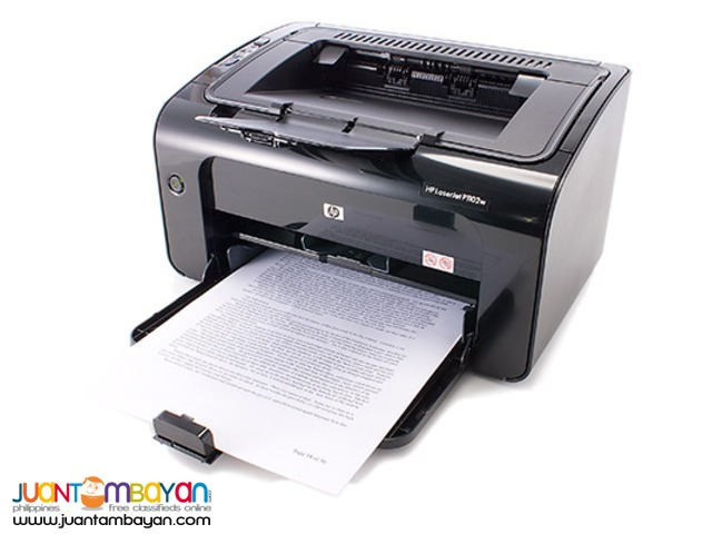 HP Laserjet P1102W/ P1102W Free Use / Rentals with Free Maintenance