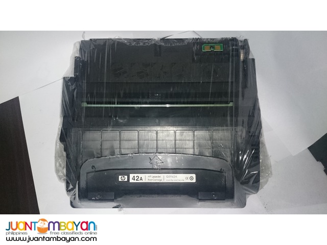 HP 42A Cartridge toner with free delivery automatic warranty