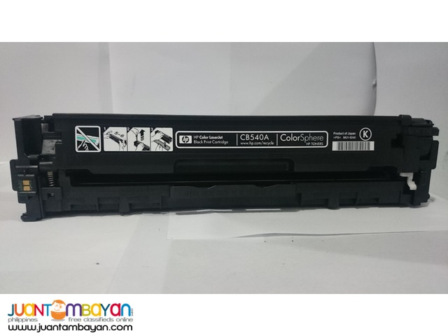 Cartridge ink toner HP cb540 black