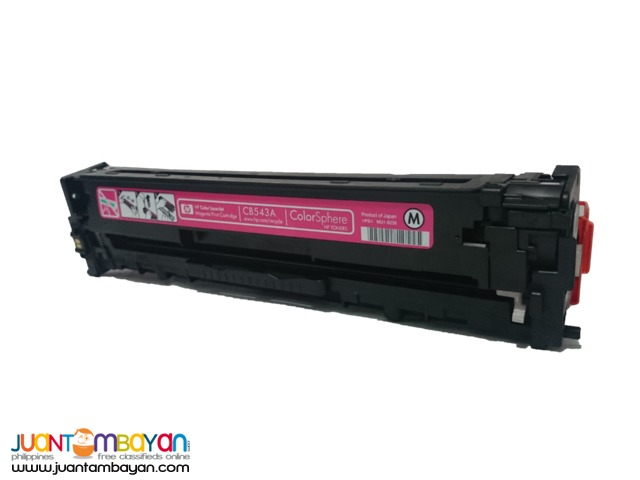 HP CB543 magenta Cartridge ink toner